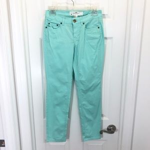 H&M Slim Fit Lightweight Mint Green Chino Pants